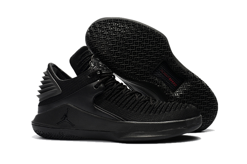 Air Jordan 32 Low All Black Shoes