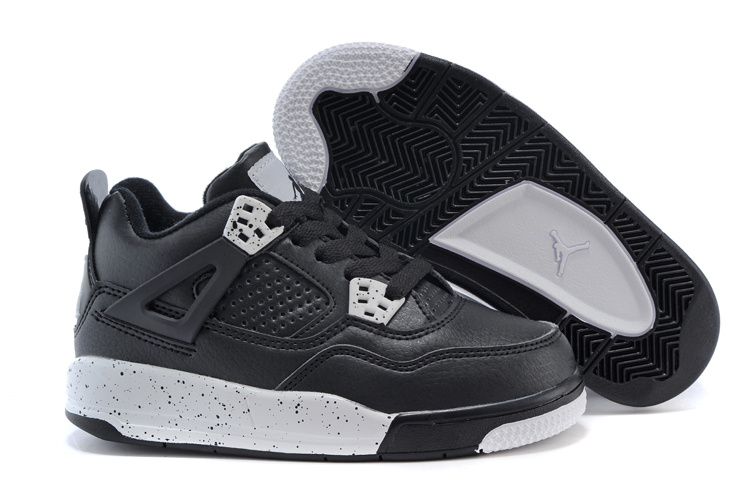 80b6d2fa387 ... czech air jordan 4 oreo black white shoes for kids c2071 a40b4 ...
