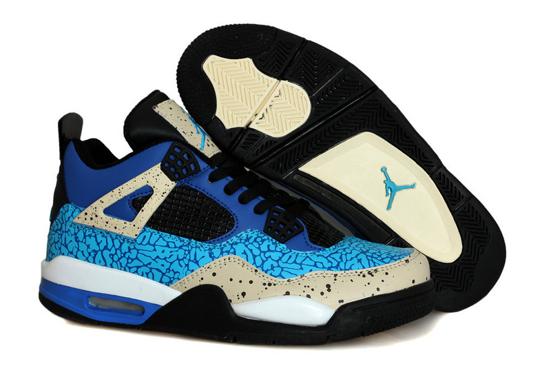 New Air Jordan 4 OG Cookie Monster Shoes