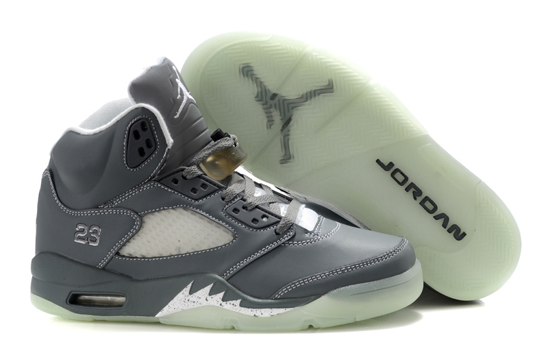 Midnight Air Jordan 5 All Grey