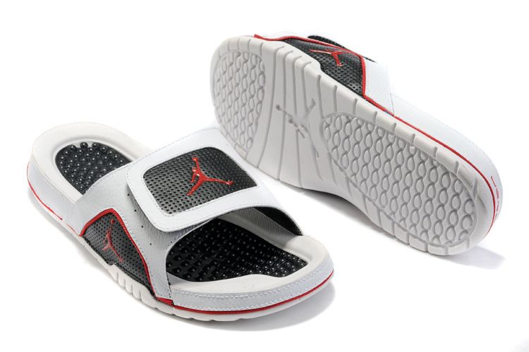 Air Jordan Hydro 5 Black Grey Red