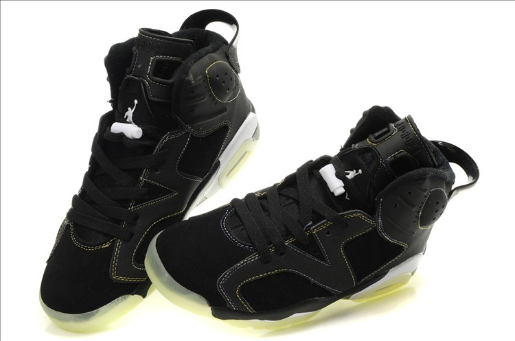 Midnight Air Jordan 6 Black White Grey