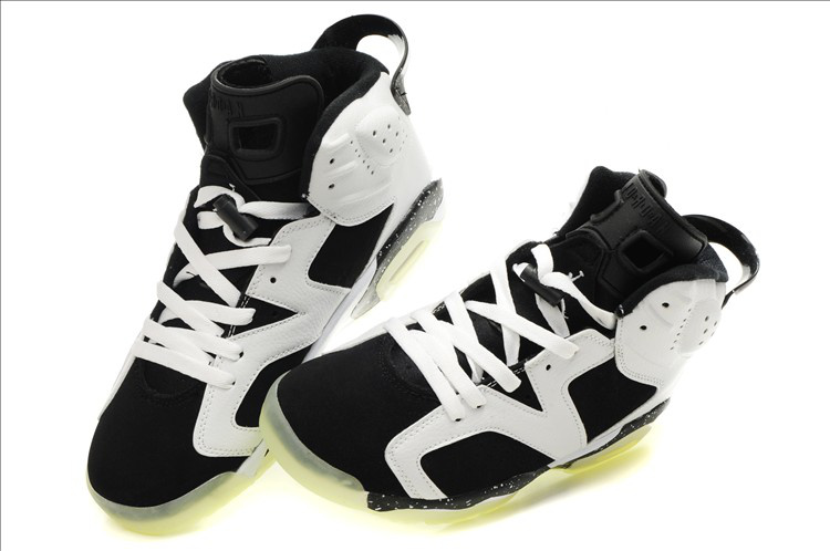 Midnight Air Jordan 6 White Black
