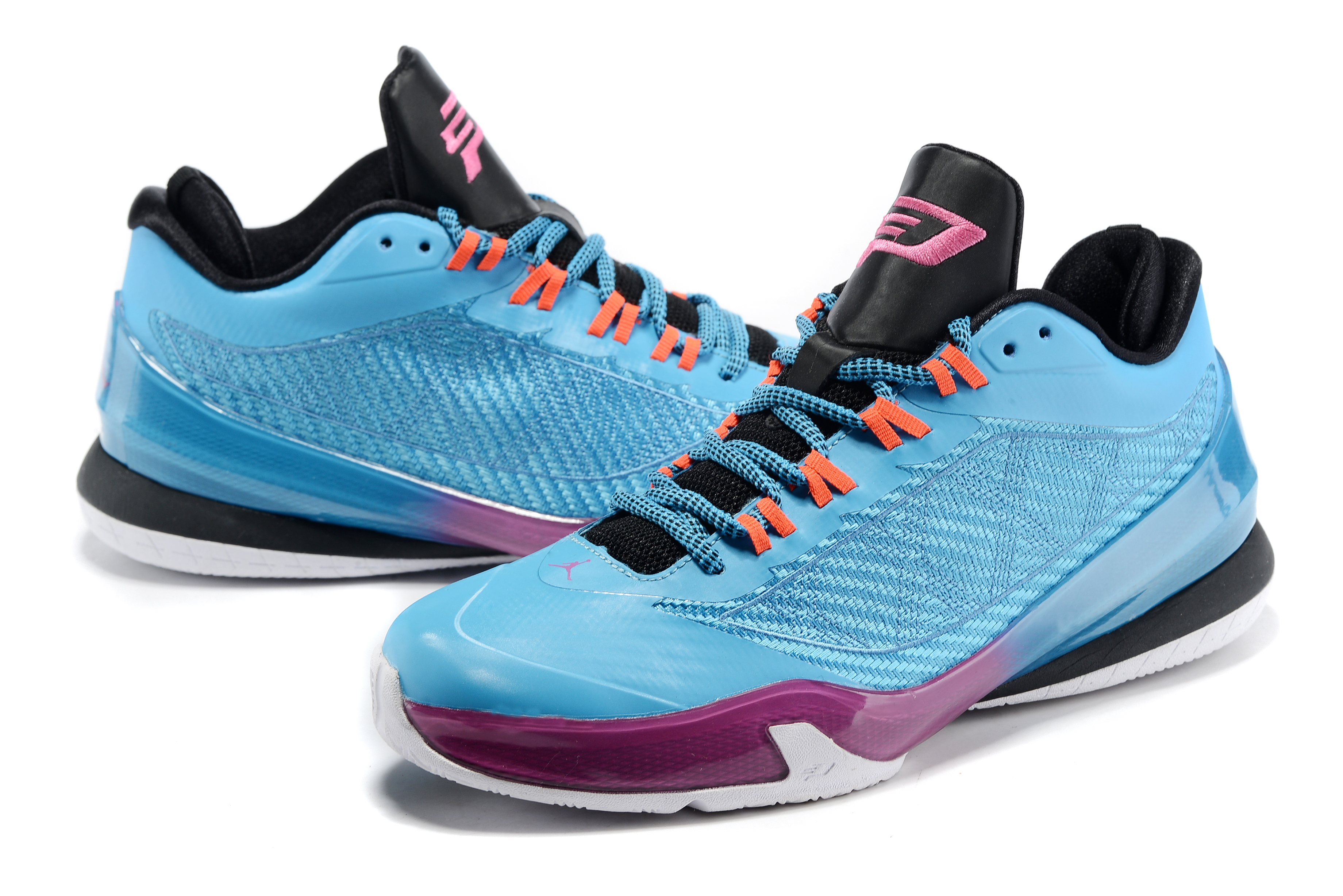 Air Jordan CP3 8 Light Green Purple Shoes