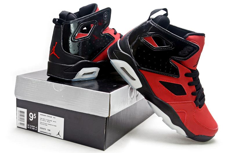 premium selection c37b4 80d54 2013 Air Jordan Fltclb 911 Black Red White Shoes