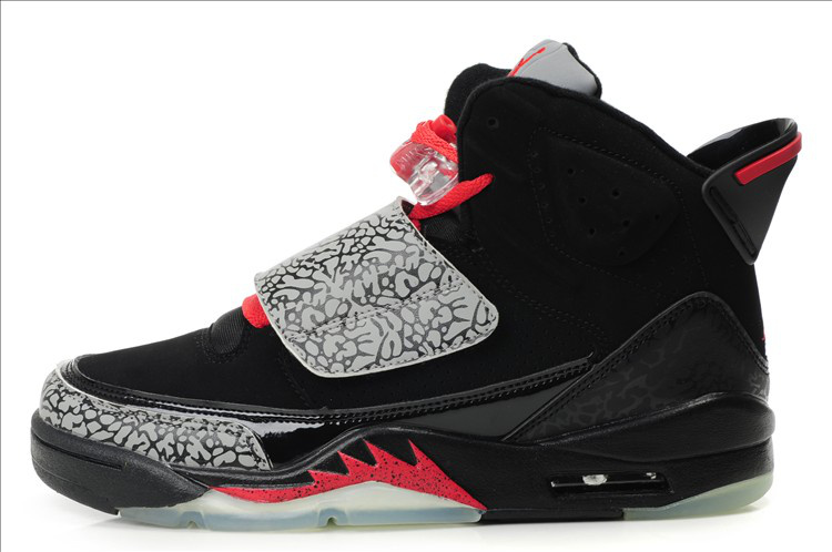 Real Air Jordan Son Of Mars Black Grey Red