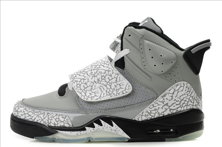 Real Air Jordan Son Of Mars Grey Black