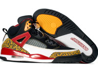 Air Jordan Spizike Black Varsity Maize Varsity Red Shoes