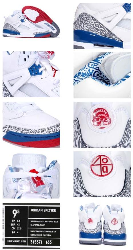 competitive price 6a4be dc0c9 ... air jordan spizike white varsity red true blue
