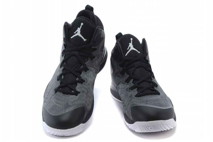 Air Jordan Super Fly 3 Griffin Black Grey Shoes