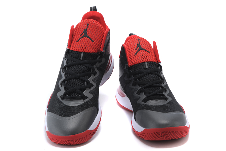 Air Jordan Super Fly 3 Griffin Black Red White Shoes