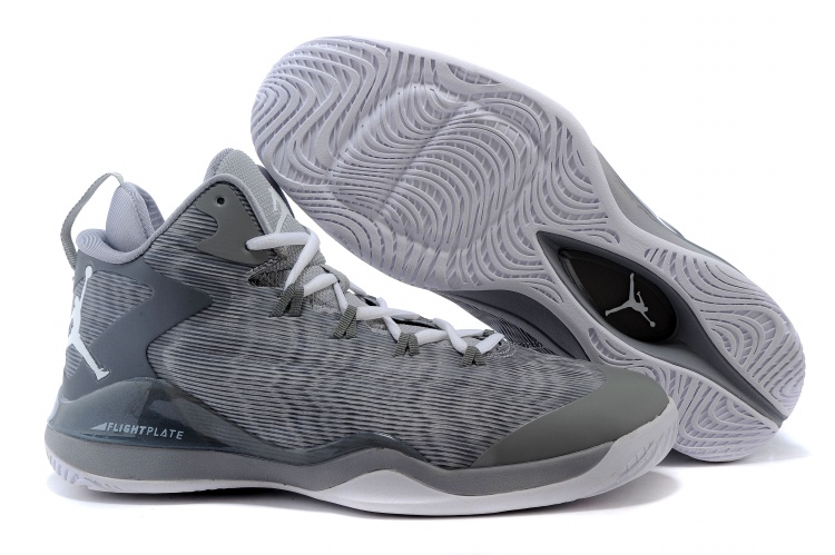 Air Jordan Super Fly 3 Griffin Grey Shoes