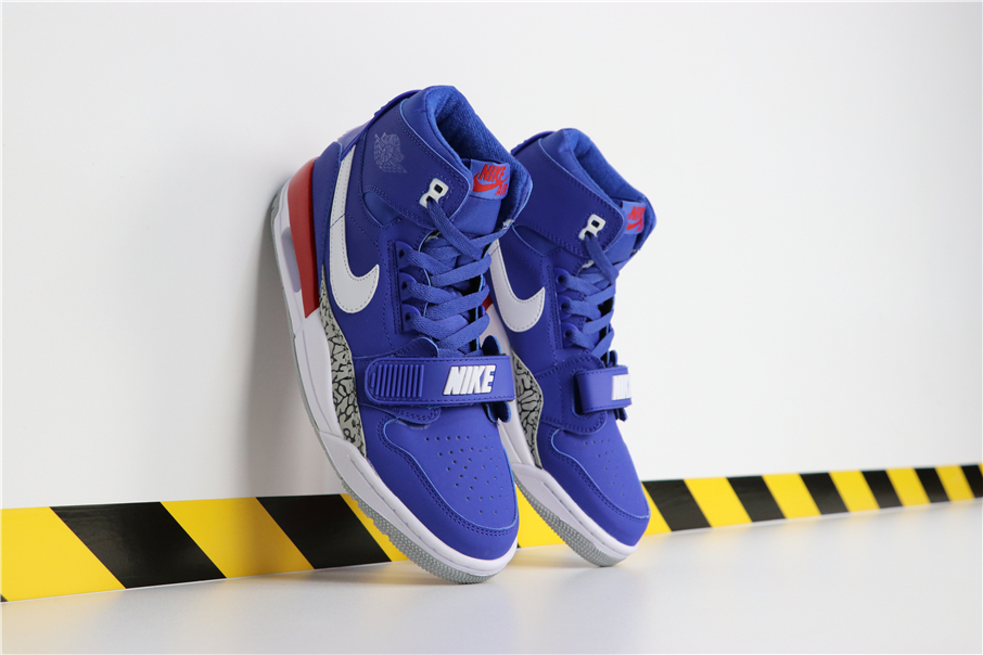 Don C x Jordan Legacy 312 Knicks Shoes