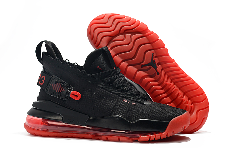 Jordan Air Max 720 Black Red Shoes