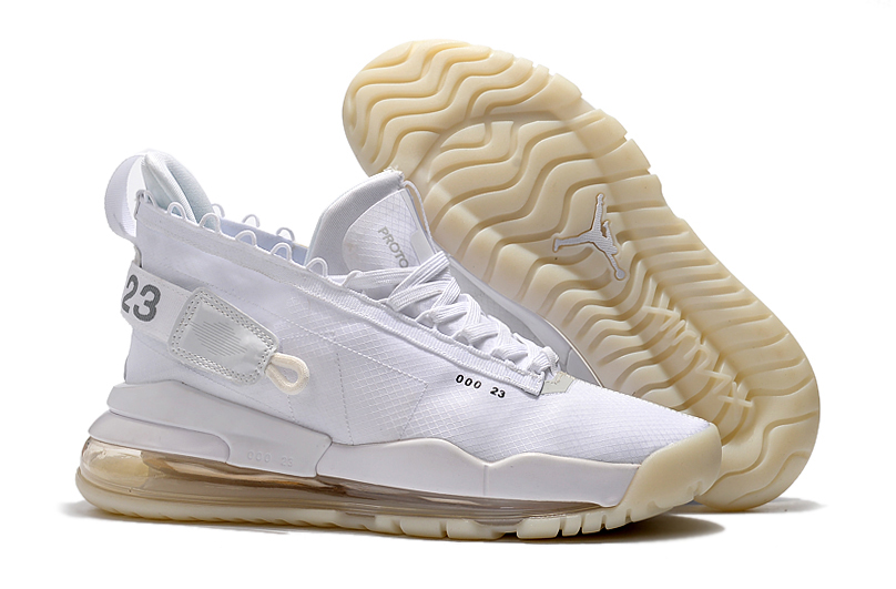 Jordan Air Max 720 White Beign Shoes