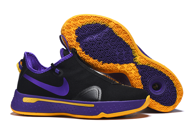 Jordan CP3 IV Black Purple Yellow Shoes