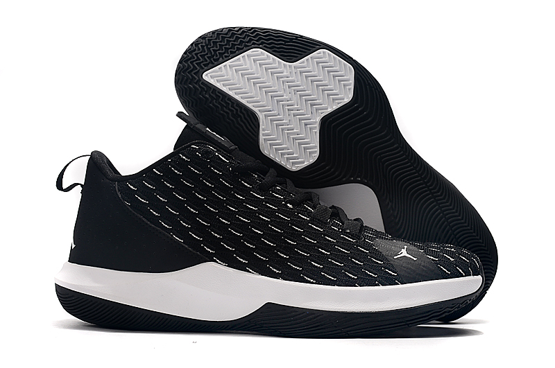 Jordan CP3 XII Black White Shoes