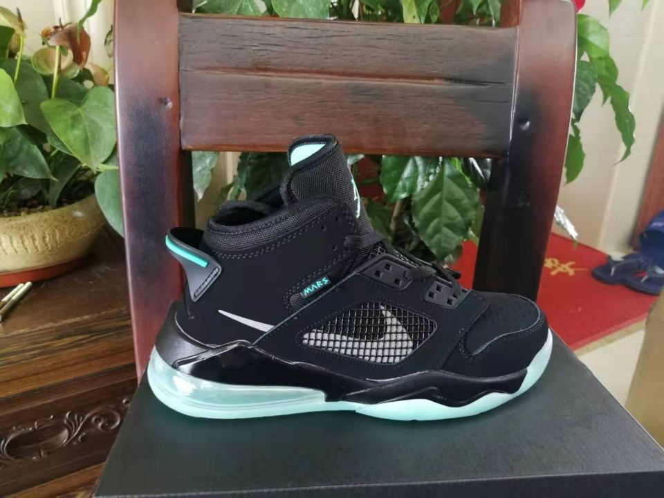 Jordan Mars 270 Black Jade Blue Shoes