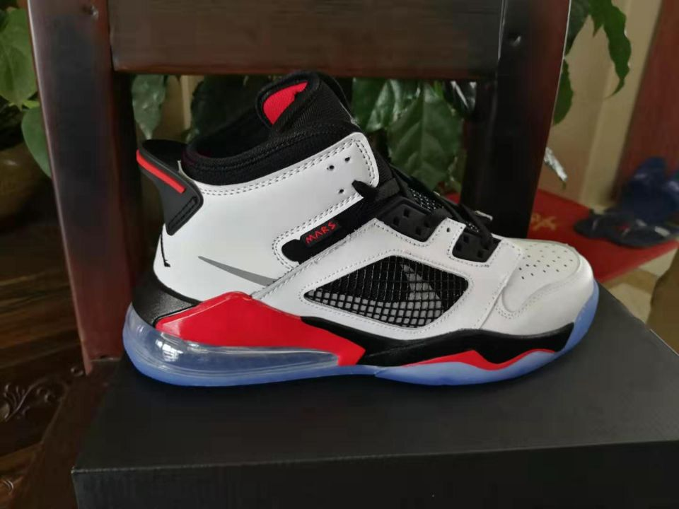 Jordan Mars 270 Black White Red Shoes