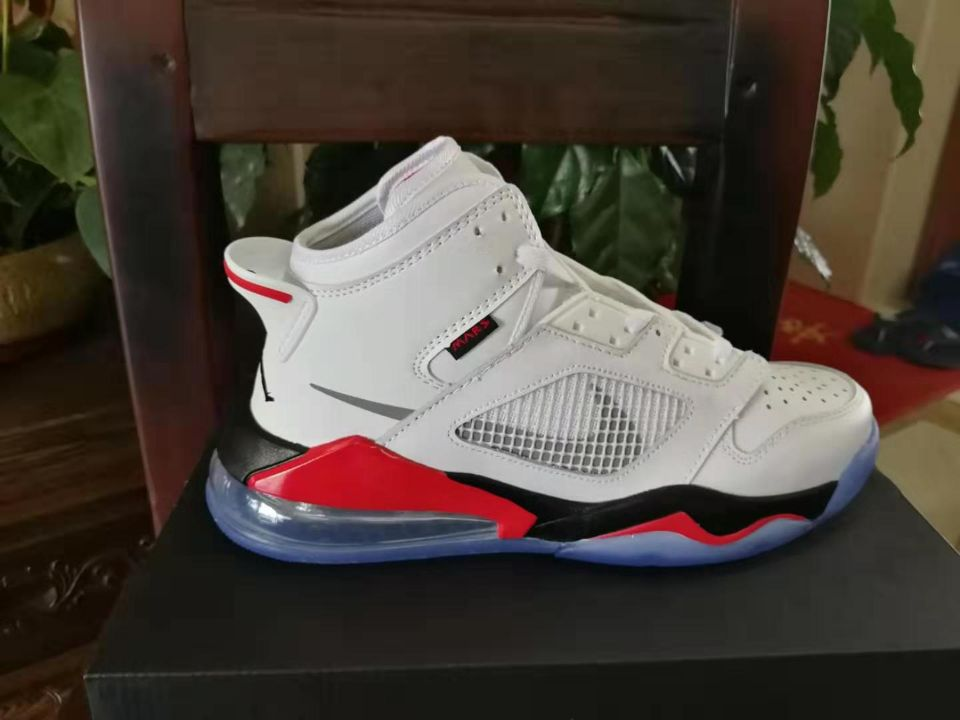Jordan Mars 270 White Black Red Shoes