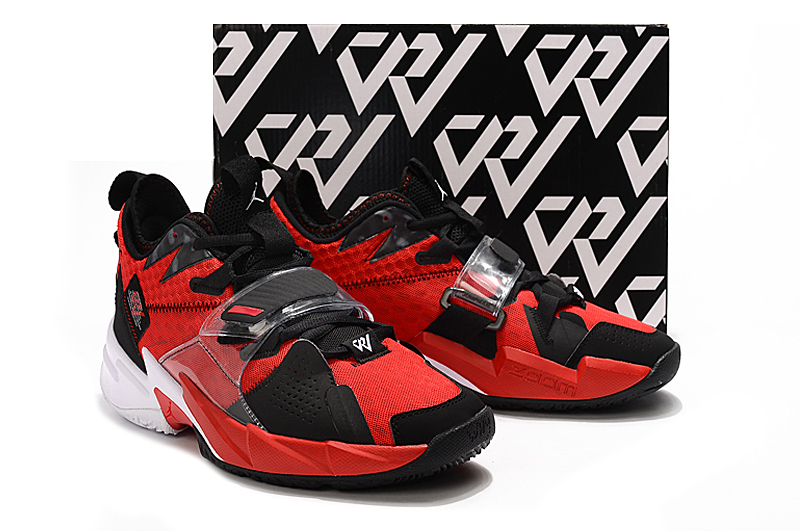 Jordan Why Not Zer0.3 Black Red White Shoes