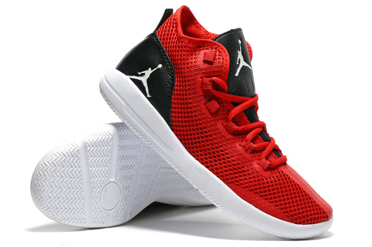 Jordan Reveal Red Black White Shoes