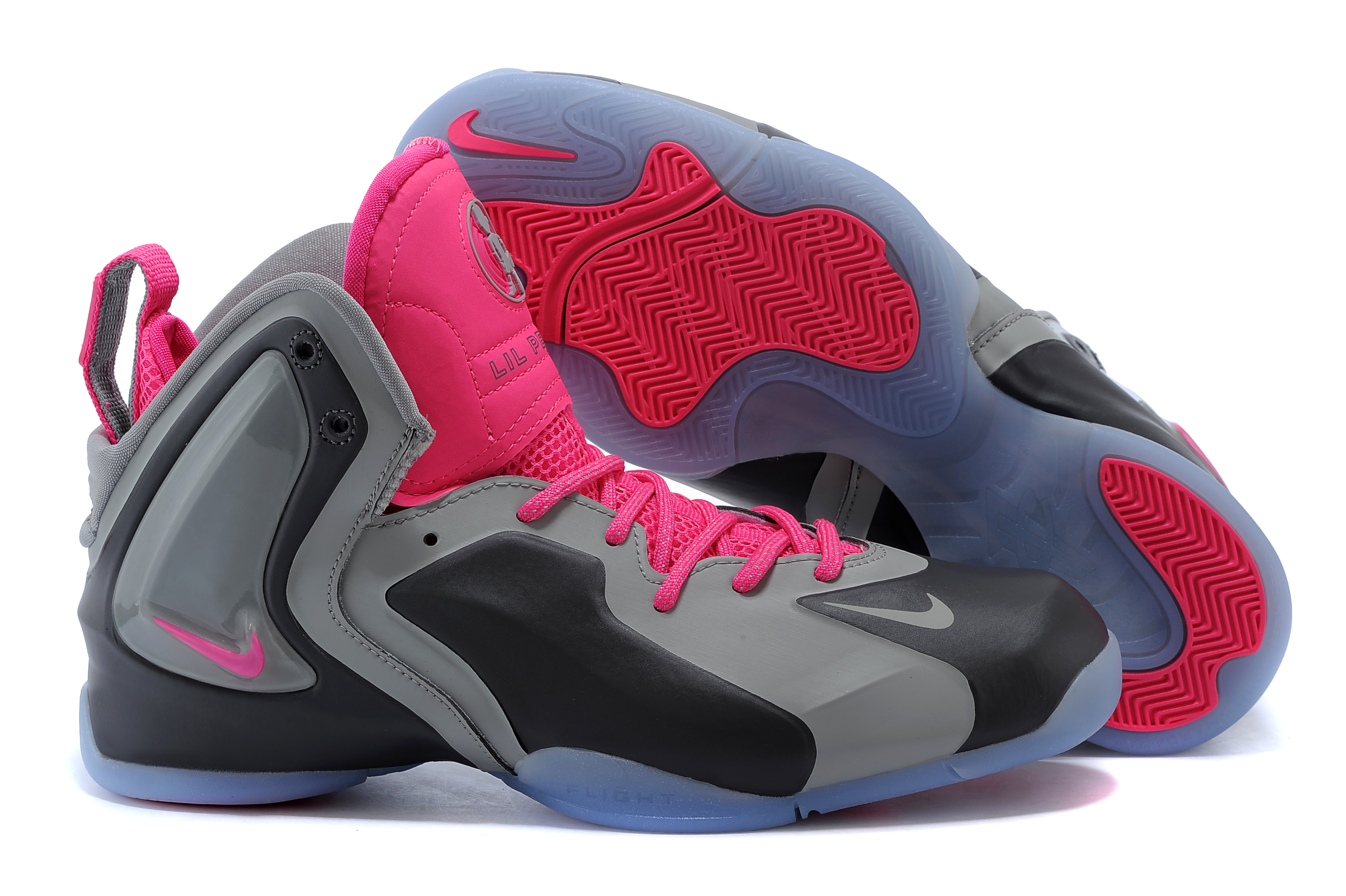 Kids Air Jordan 7 Pink Black Grey Shoes