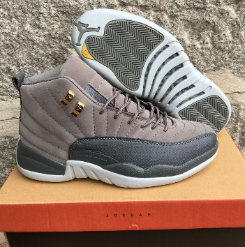 New Air Jordan 12 Retro Cool Grey Shoes