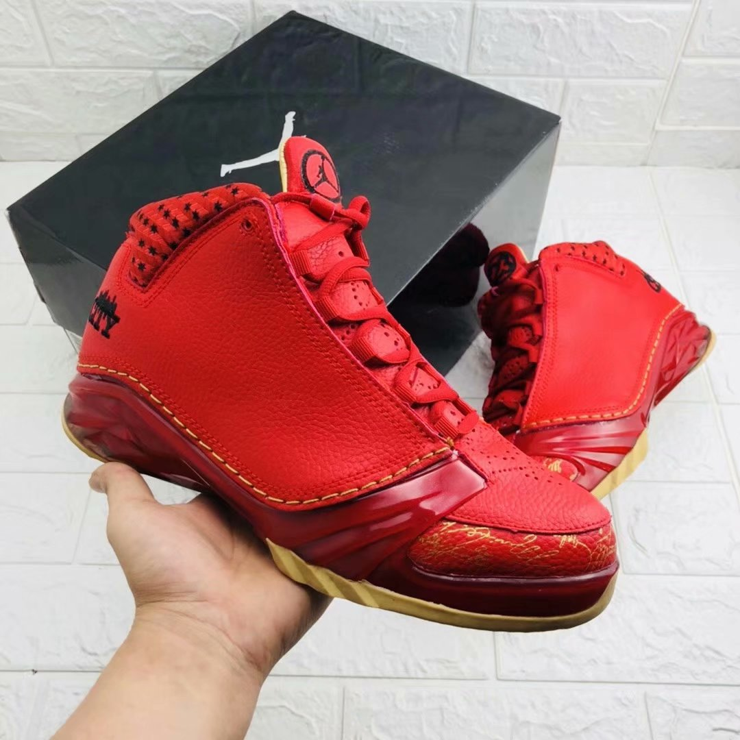 New Air Jordan 23 Red Yellow Shoes