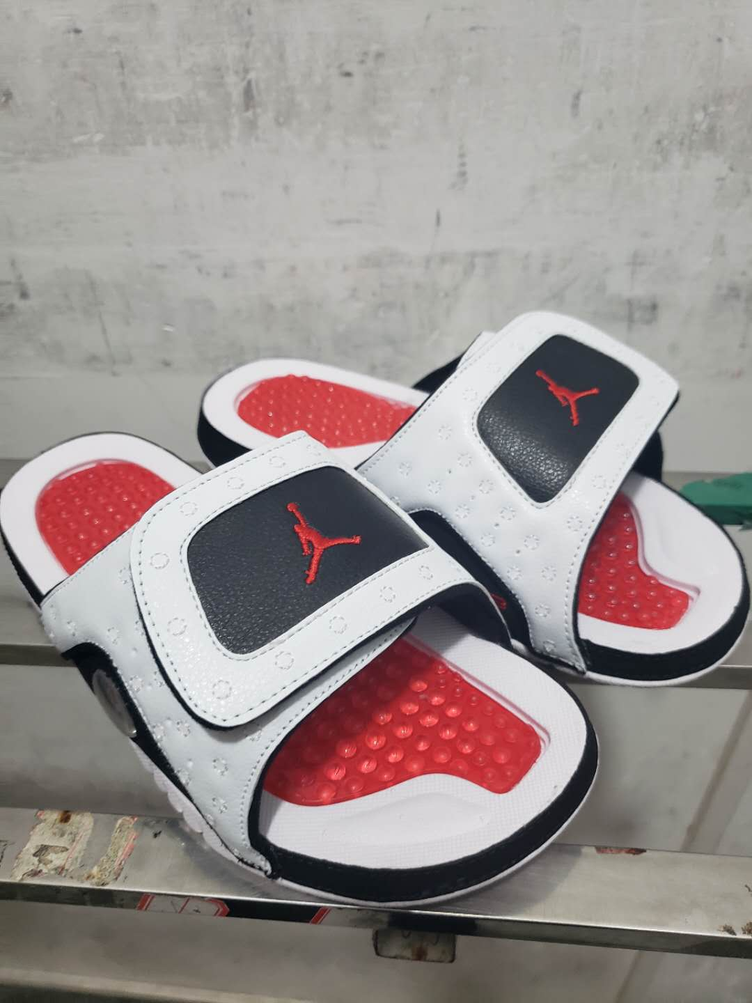 New Air Jordan XIII Hydro White Red Black