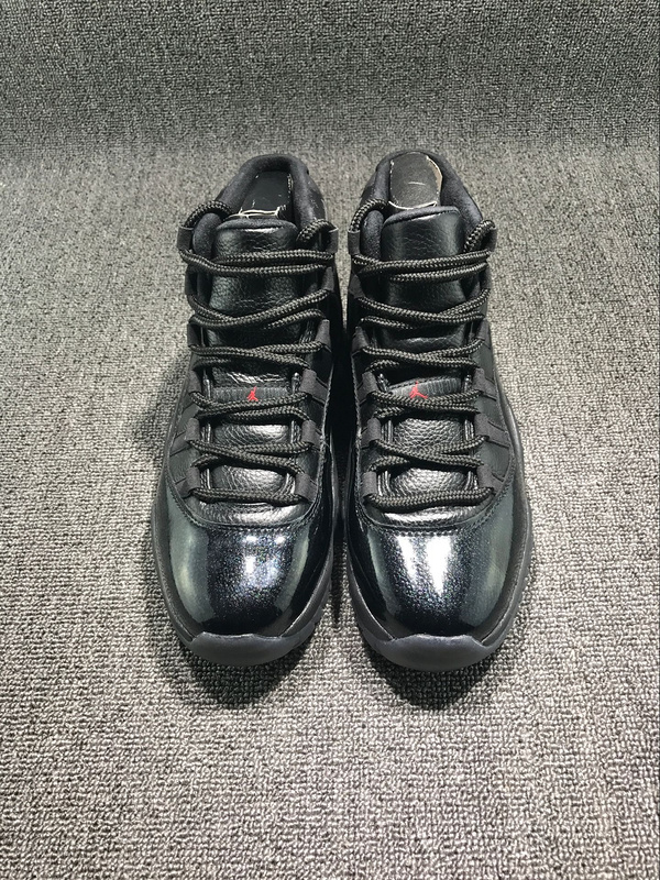 New Air Jordan 11 All Black Demon King Shoes