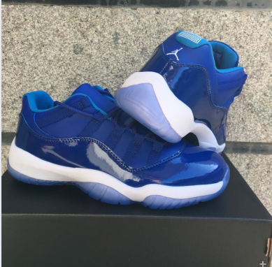 978a4ac26e8 New Air Jordan 11 Low Royal Blue Shoes [17OG121] - $77.00 : Original ...
