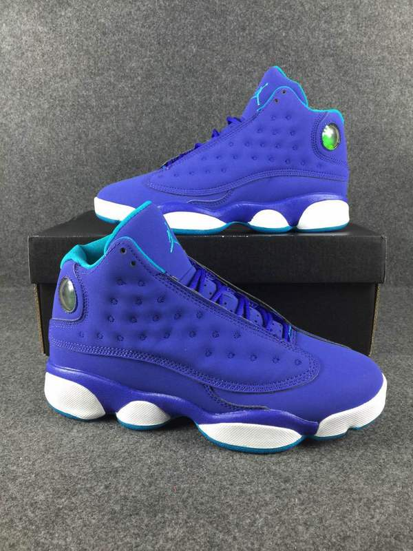 New Air Jordan 13 CP3 Purple Blue Shoes