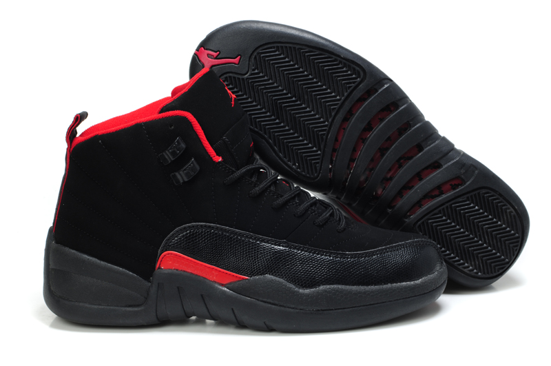 Jordan 12 Retro Dark Black Red