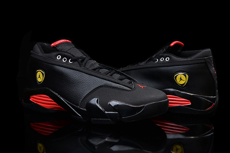 timeless design d0ce6 f455e discount jordan 14 black red original d9113 174d0