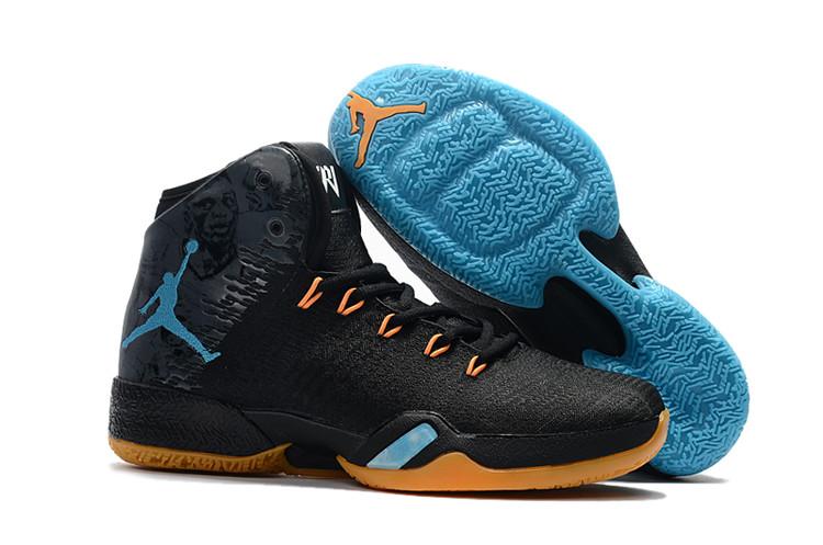 4a5b411eecc shop air jordan retro 30 white black blue low price 5805f b13a6; ireland  new air jordan 30.5 mvp black yellow blue shoes 35042 62427