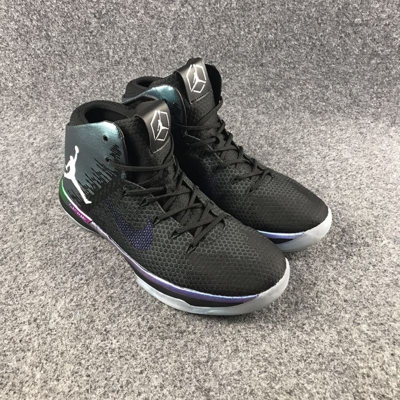 New Air Jordan 31 Black Green Shoes