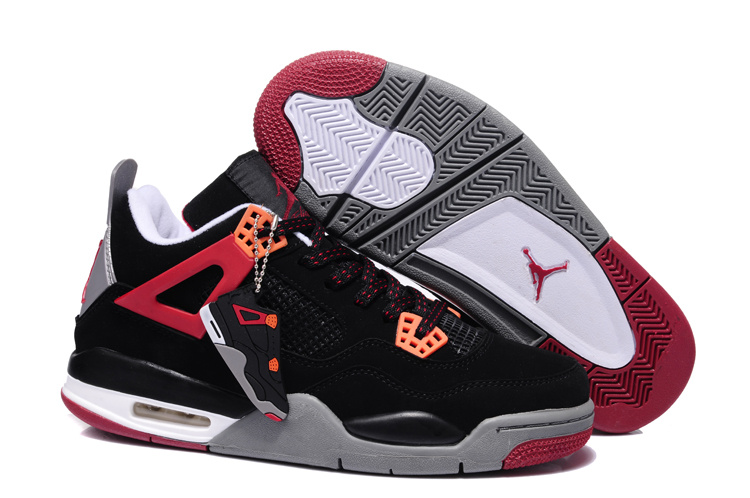superior quality c99cd 61061 canada 2013 air jordan 4 black dark red grey shoes 1eb34 55df2