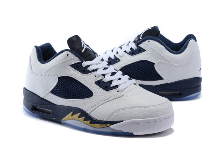 quality design 76eb5 a95d9 amazon jordan 5 navy blue low 1137c e78f3