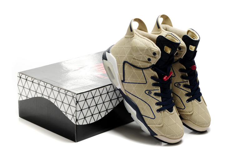 Latest Air Jordan 6 Brown White