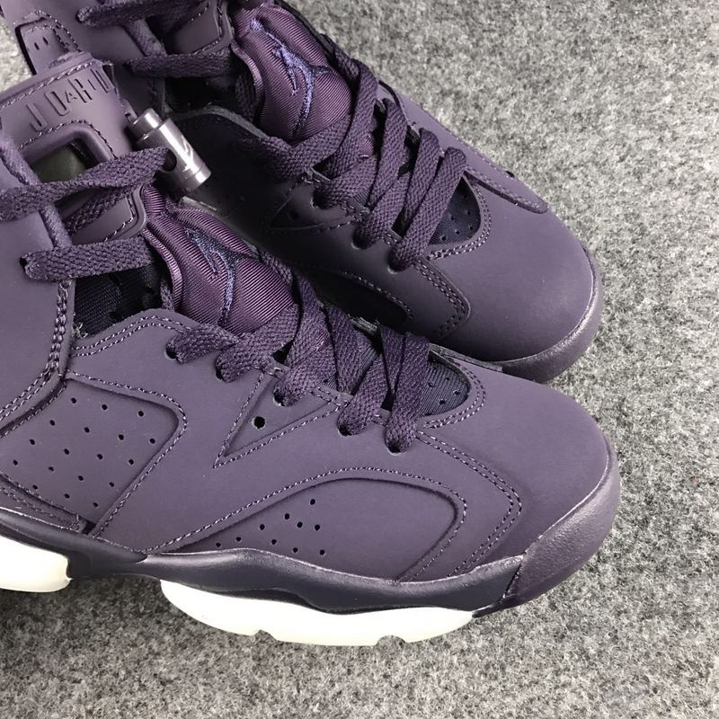 New Air Jordan 6 GS Dark Purple Shoes