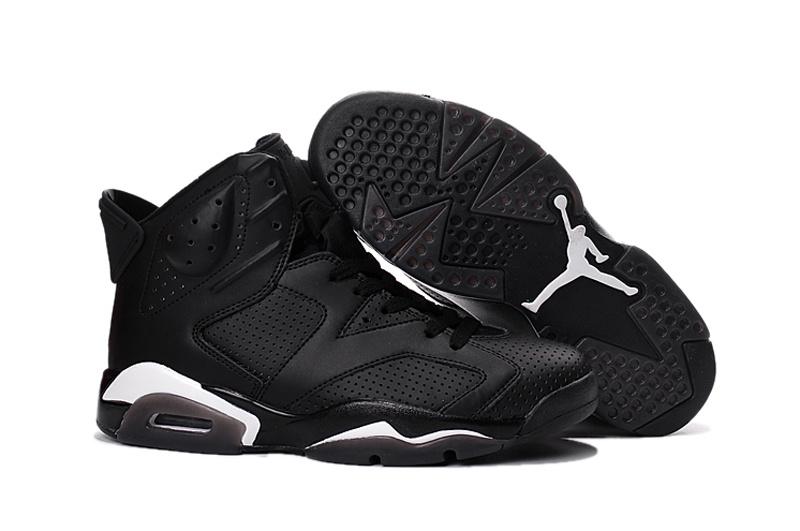 Air Jordan 6 Retro All Black Cat Shoes