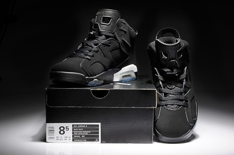 Air Jordan 6 OG Black-White