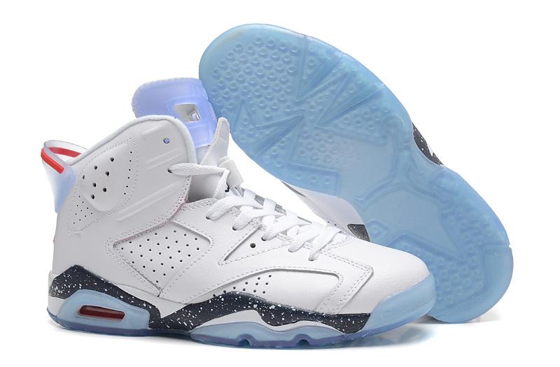 New Air Jordan 6 Retro White Black Baby