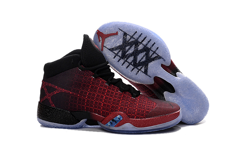 New Air Jordan XXX Red Black Shoes