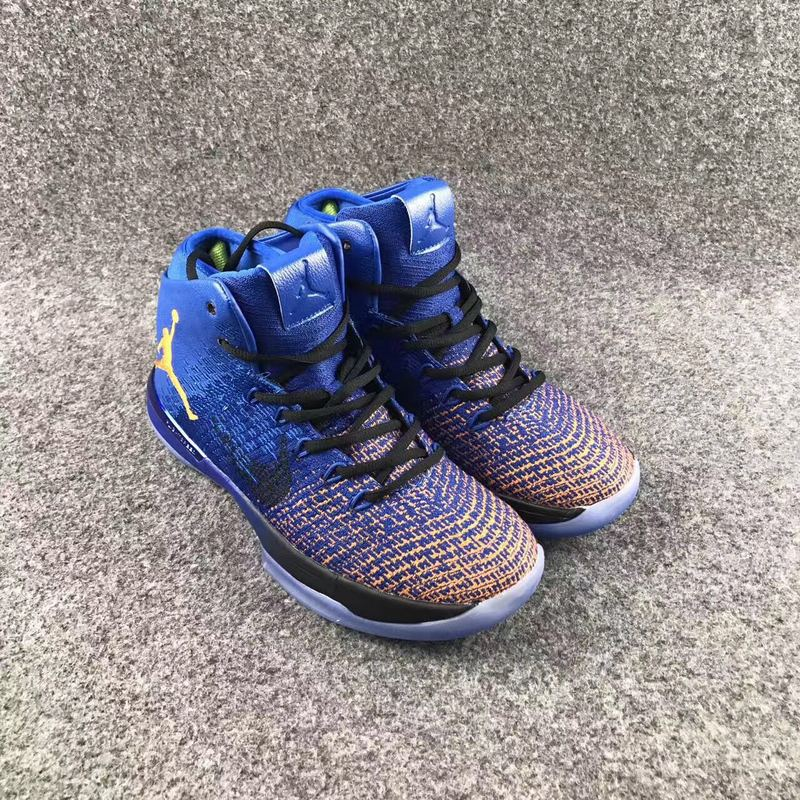 New Air Jordan XXXI Supernova Thunder Blue Orange Shoes