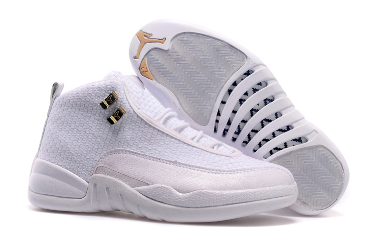 New All White Jordan 12 Future Shoes