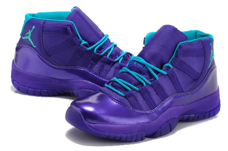 New Jordan 11 Retro Purple Shoes
