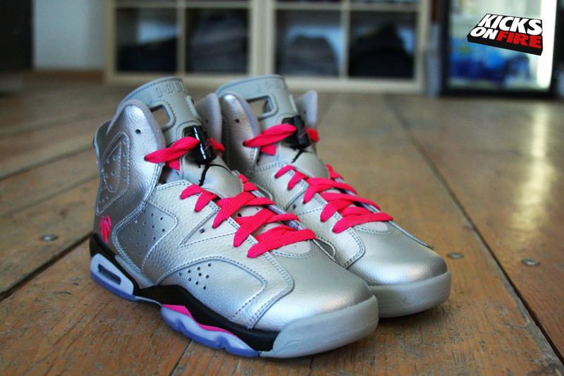 New Jordan 6 Retro Valentine Silver Black Red Shoes  NEWEST134 ... 00a86fb8fa