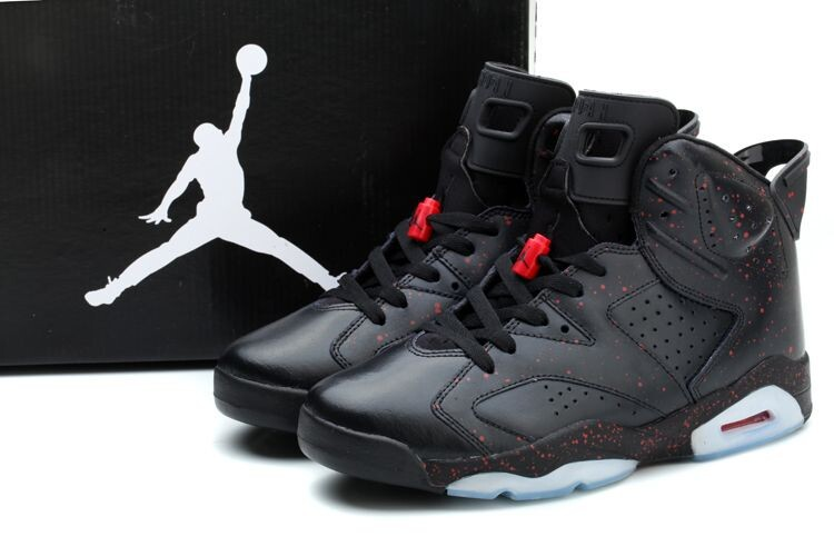 New Jordan 6 World Cup Collective Edition Black Shoes